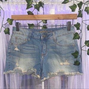 Mid Wash Shorts